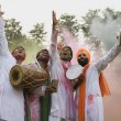 Men celebrating Holi — Stock Photo #39447105