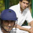Cricket players — Stock Photo #39449591