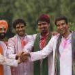 Men celebrating Holi — Stock Photo #39449833