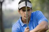 Golfer man — Foto de Stock