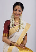 South Indian Woman — Stock Photo