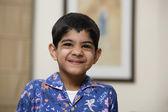 Boy smiling — Stock Photo