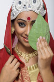 Bengali bride — Stock Photo