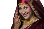 Kashmiri bride — Stock Photo