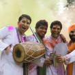 Men celebrating Holi — Stock Photo #39454215