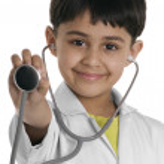 Boy doctor — Stock Photo