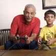 Playing video games — Stock Photo #39457113