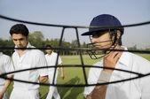 Cricketers — Stockfoto