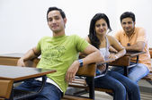 College students in a classroom — Foto de Stock