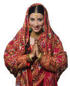 Punjabi bride — Stock Photo