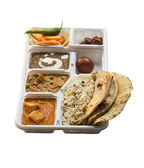 Indian Thali food — Stock Photo