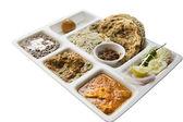 Indian Thali food — Stock Photo