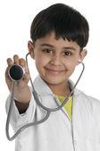 Boy doctor — Foto Stock