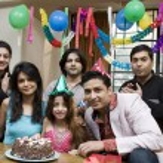 fira en födelsedag — Stockfoto