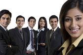 Businesspeople posing — Stock Photo