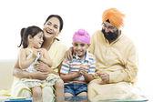 Familia sikh — Foto de Stock