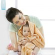 Mother with her baby — Stock Photo #43736665