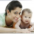 Mother with her baby — Stock Photo #43736791