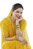 Gujarati woman — Stock Photo
