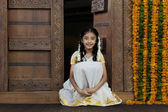 South Indian girl — Stock Photo