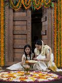 South Indian family — Stockfoto