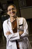 Médico feminino — Foto Stock