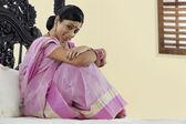бенгальская женщина — Стоковое фото