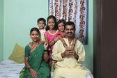 Maharashtrian family — Stock fotografie