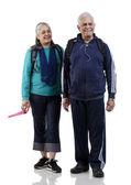 Old couple — Stock Photo