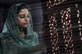 Muslimská žena — Stock fotografie