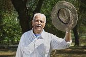 Uomo anziano — Foto Stock