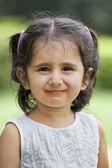 Adorable girl smiling — Stock Photo