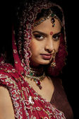 Indian bride — Stock Photo