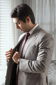 Confident young business man — Stock Photo
