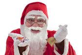 Santa Claus portrait — Stock Photo