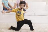 Cute little boy gesturing — Stock Photo