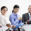 Executives with businesspeople — Stock Photo #47436857