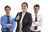 Business executives — Stock Photo