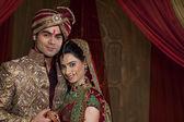 Beautiful indian couple — Stock Photo