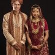 Gujarati bride and groom — Stock Photo #47489131