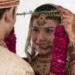 Gujarati bride and groom — Stock Photo #47489269