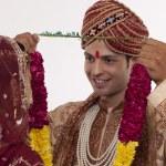 Gujarati bride and groom — Stock Photo #47489309