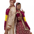 Gujarati bride and groom — Stock Photo #47489353