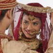 Gujarati bride and groom — Stock Photo #47489447