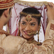 Gujarati bride and groom — Stock Photo #47489495
