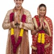 Gujarati bride and groom — Stock Photo #47489887