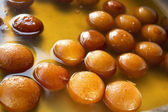 Gulab jamuns in syrup — Stock Photo