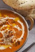 Delicious chicken curry — Stock Photo