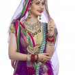 Traditional Indian bride — Stock Photo #51109913