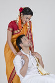 South Indian couple — Stock Photo